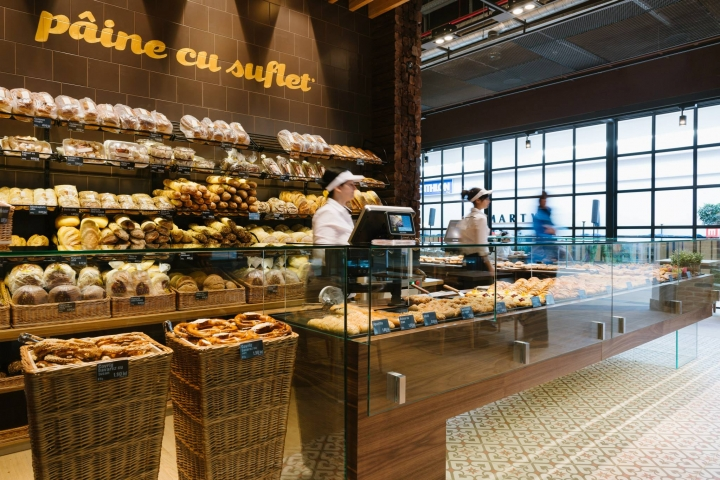 Panemar bakery store in Polus mall - Cluj Napoca by Todor Cosmin.