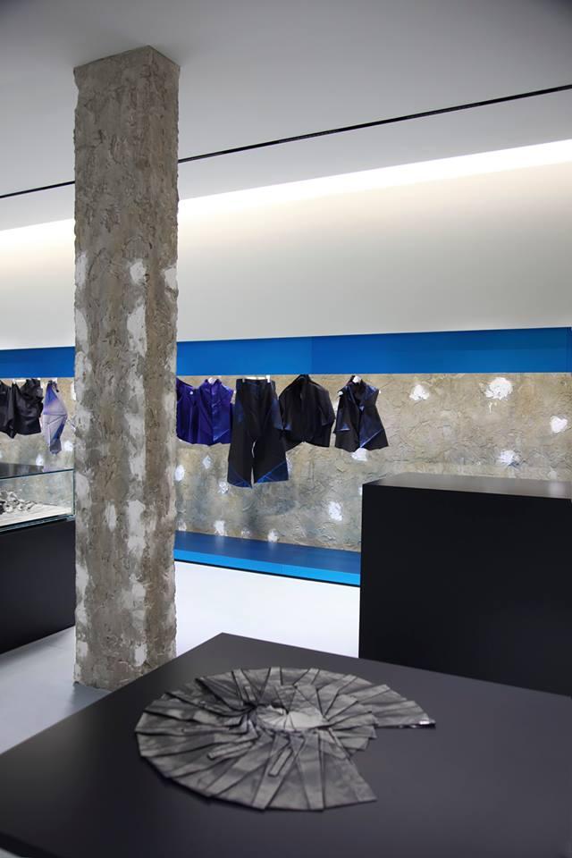 2014 ISSEY MIYAKE London flagship store by Tokujin Yoshioka