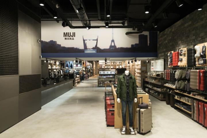 Muji flagship store Paris