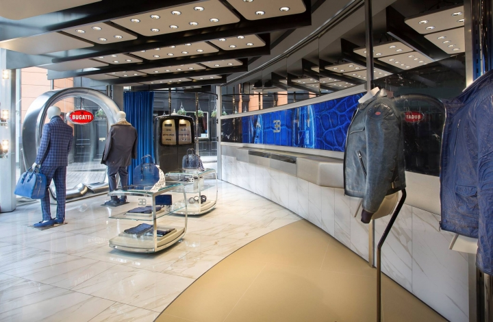 Bugatti first lifestyle boutique in Knightsbridge London