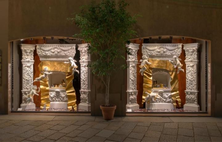 Dolce&Gabbana Holiday Season Windows