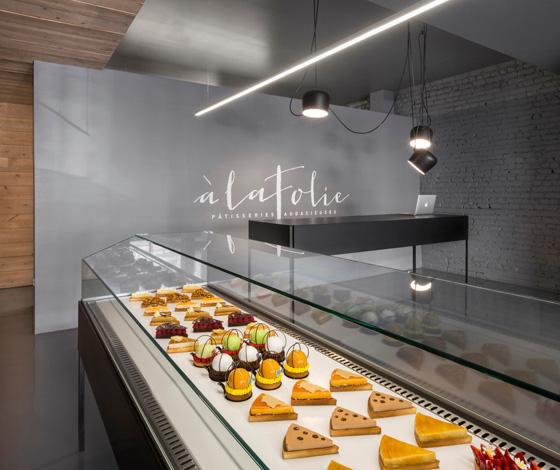 À La Folie pastry shop by Atelier Moderno & Anne Sophie Goneau