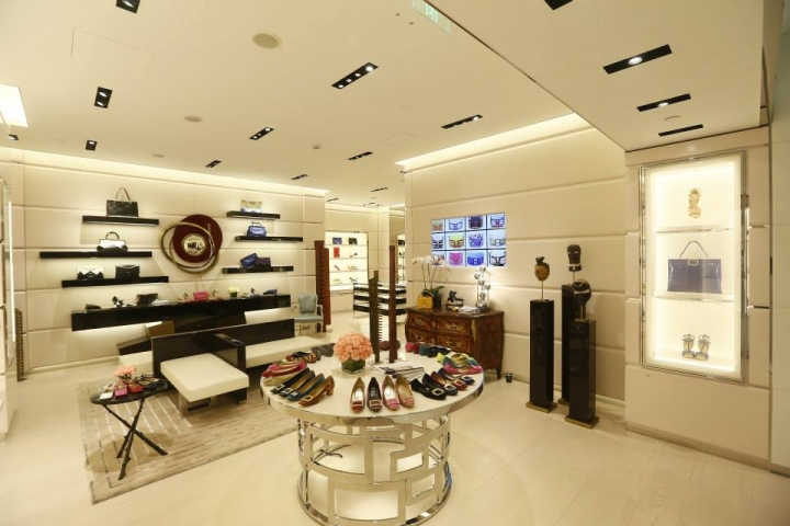 Inside Roger Vivier Hangzhou store China