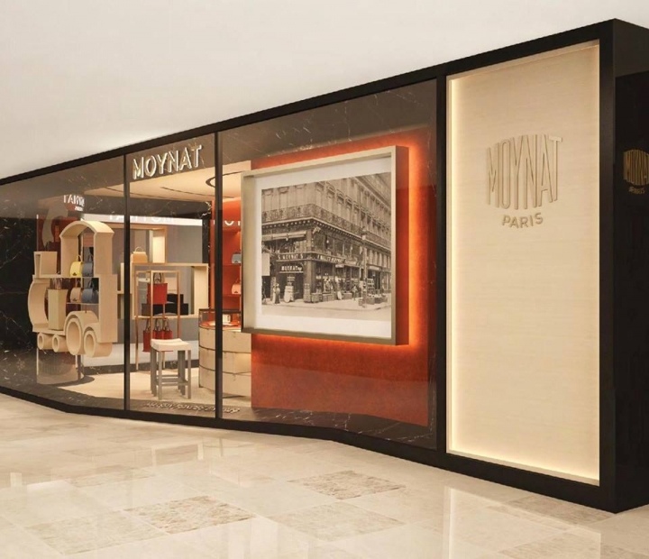 Moynat pop up store in Hong Kong