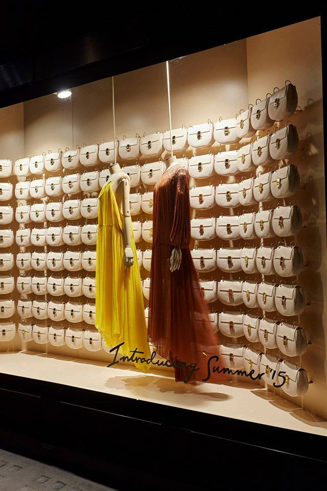 Drew Pop-Up wall at Selfridges