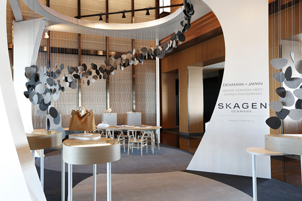 Skagen pop-up store in Tokyo by Uxus