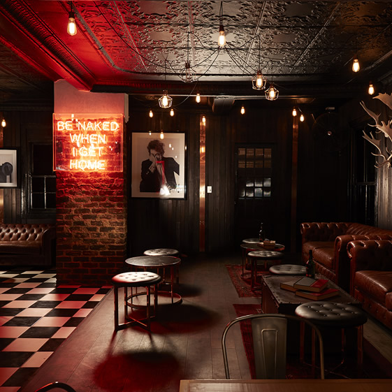 Hell's Kitchen's whiskey lounge by StudioA