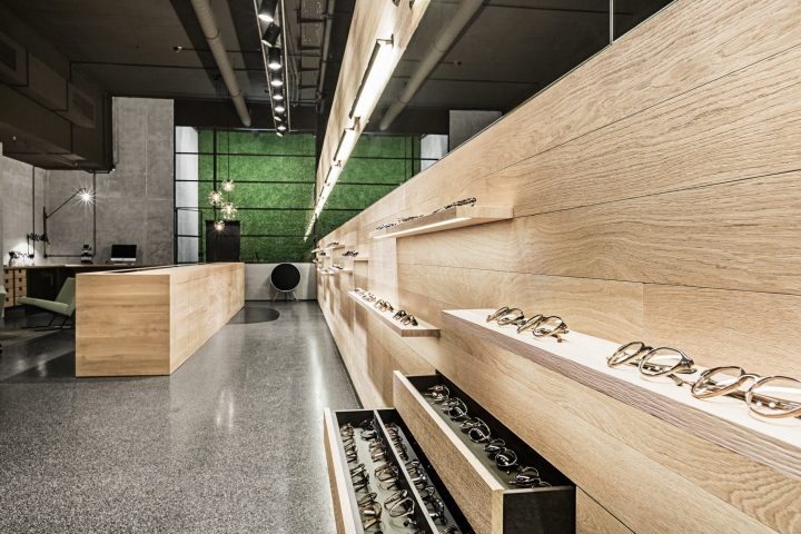 Leidmann eye wear store Munchen