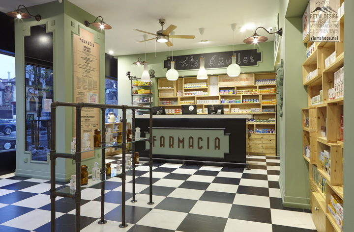 Farmacia concept store by OMID GHANNADI - Dorobanti district Bucharest