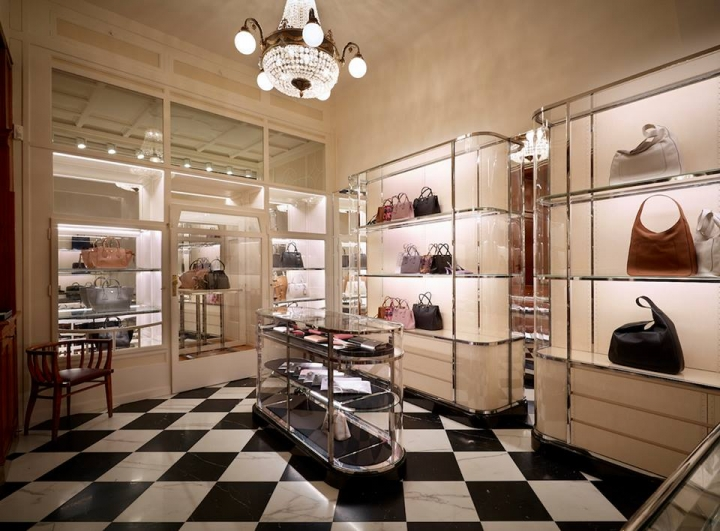 Prada opens a new boutique in Salzburg