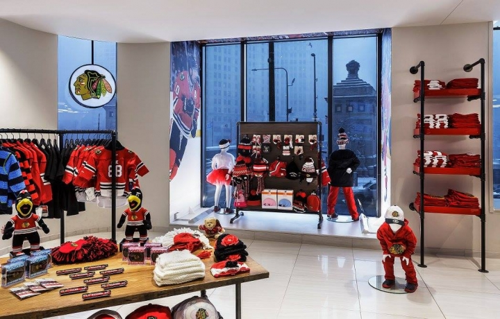 Chicago Blackhawks Flagship Store, Chicago