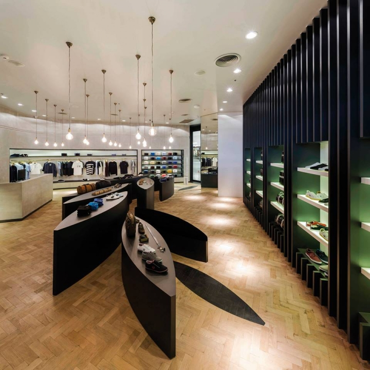 Fred Perry store design in Bangkok by BuckleyGrayYeoma