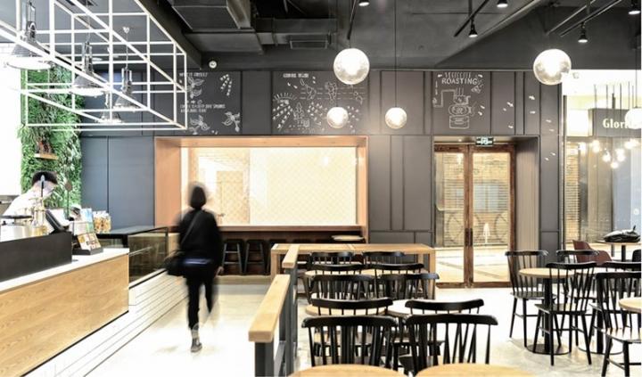 Gloria Jean's Coffee in Chengdu / China by Studio DOTCOF