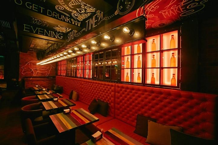 SOHO bar by LEFT,