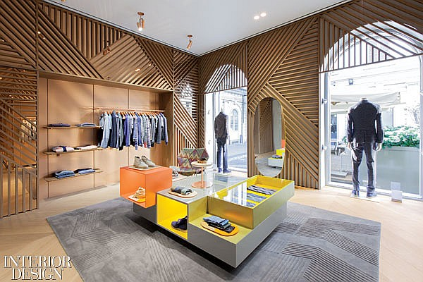 Missoni Flagship store in Milan by Patricia Urquiola
