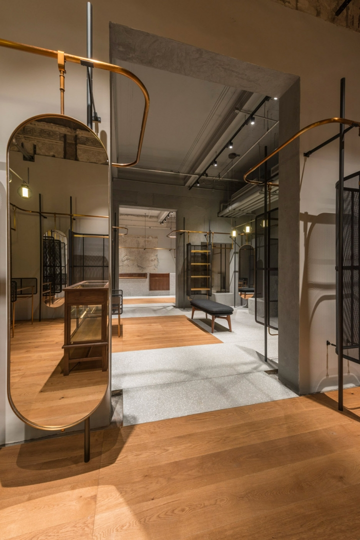 Comme Moi flagship store by studio Neri&Hu