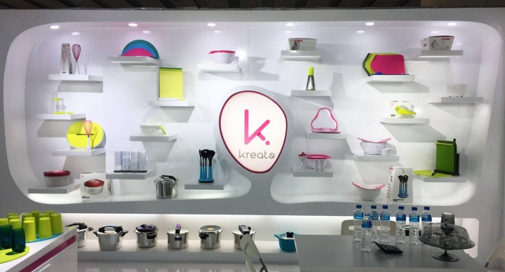 Kreate stand design  by Karim at Canton Fair, Guangzhou