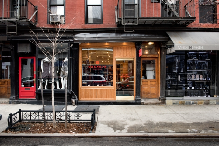 Grenson shoe store in New York
