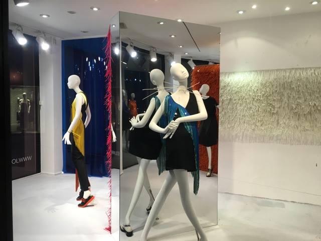 Joseph Fashion window display made by Harlequin Design