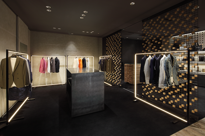B'2nd roppongi store designed by Ito Masaru Design