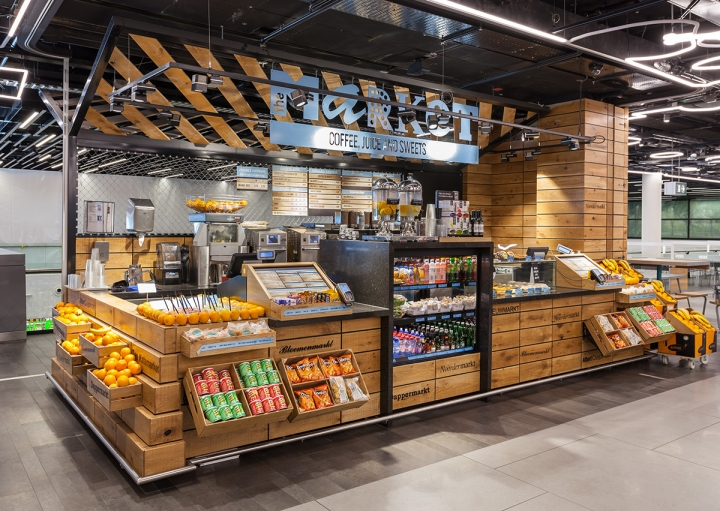 Schiphol Street Food Market by Uxus