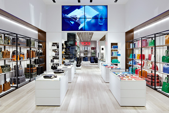 Tumi store by Dror, New York