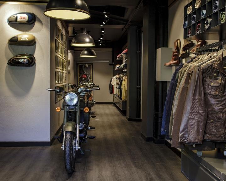 Royal Enfield exclusive concept store In Paris