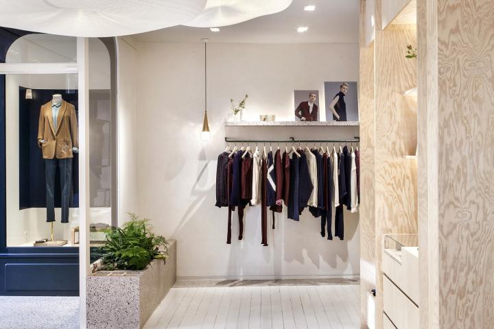Marie Sixtine Le Marais flagship store by Atelier Baptiste Legué