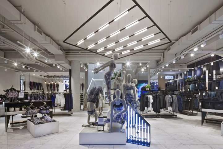 Lululemon store by Dalziel-Pow, London