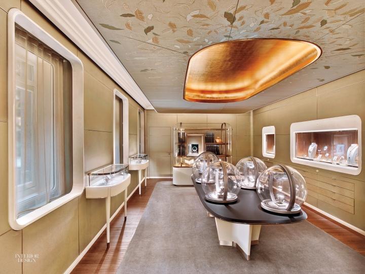 Van Cleef & Arpels store in Paris by Jouin Manku
