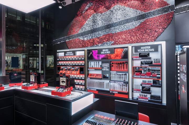 MAKE UP FOR EVER global flagship New York by UXUS