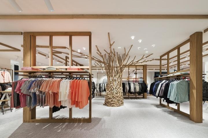 Modehaus Reichle store by Konrad Knoblauch