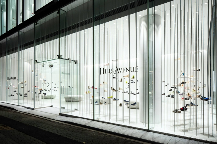 Hills Avenue flagship store in Tokyo by Tokujin Yoshioka