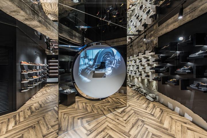 LOST GARDEN flagship store by niiiz designlab