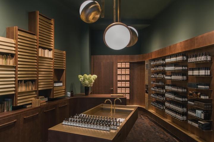 Aesop store, Vienna