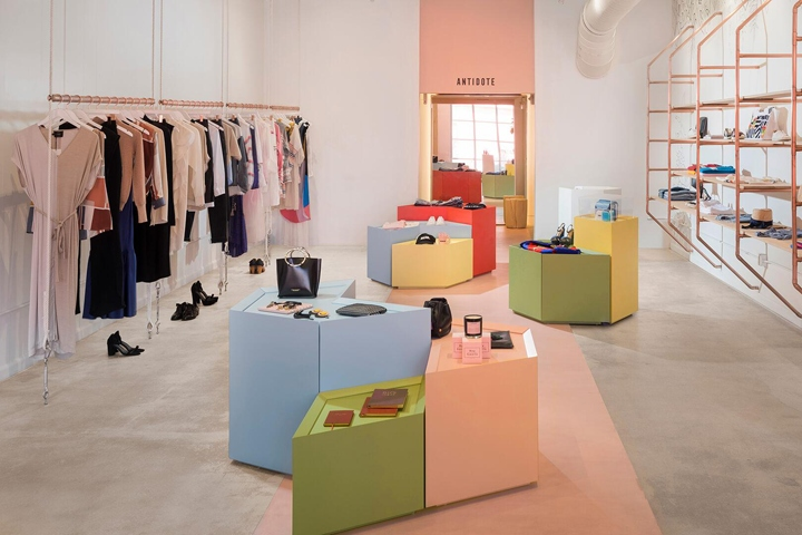 Antidote flagship store by Atelier de Yavorsky