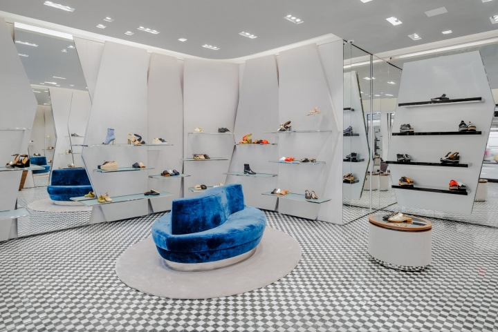 Clergerie luxury footwear store by Vudafieri-Saverino Partners