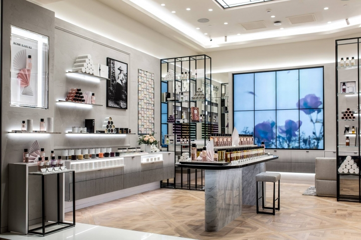 Maison Dior stand-alone beauty boutique in Bucharest, Romania