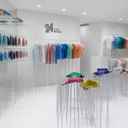 24 Issey Miyake Concept Store design and in store visual merchandising Tokyo