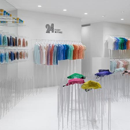 24 Issey Miyake Concept Store design and in store visual merchandising Tokyo