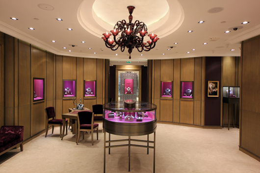 House of Boucheron Flagship Store in Doha Quatar
