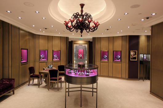 House of Boucheron Flagship Store in Doha Quatar