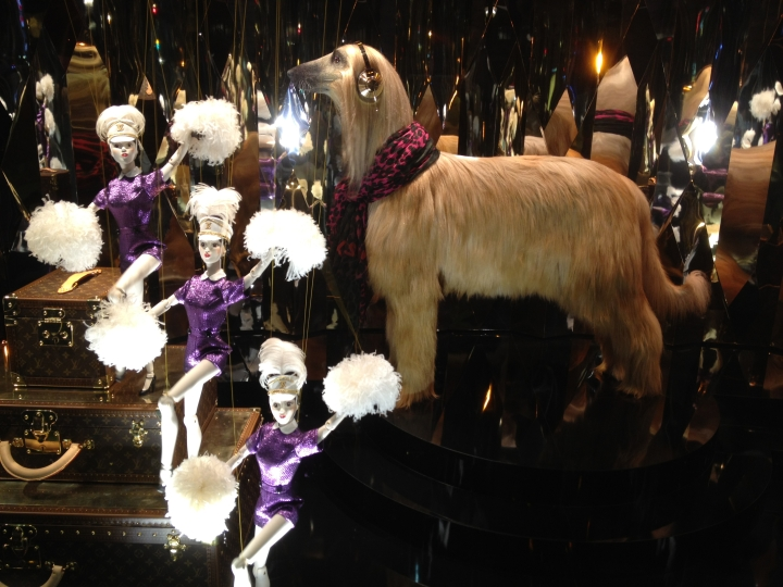 Galeries Lafayette Christmas Windows by Louis Vuitton 2012