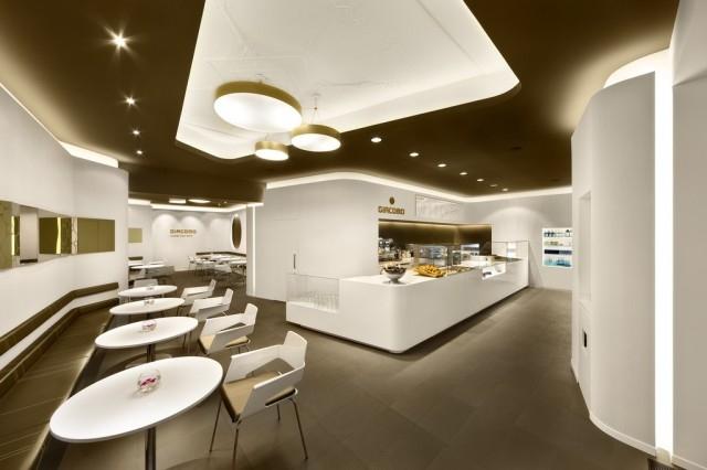 Giacomo Fast Food interior design