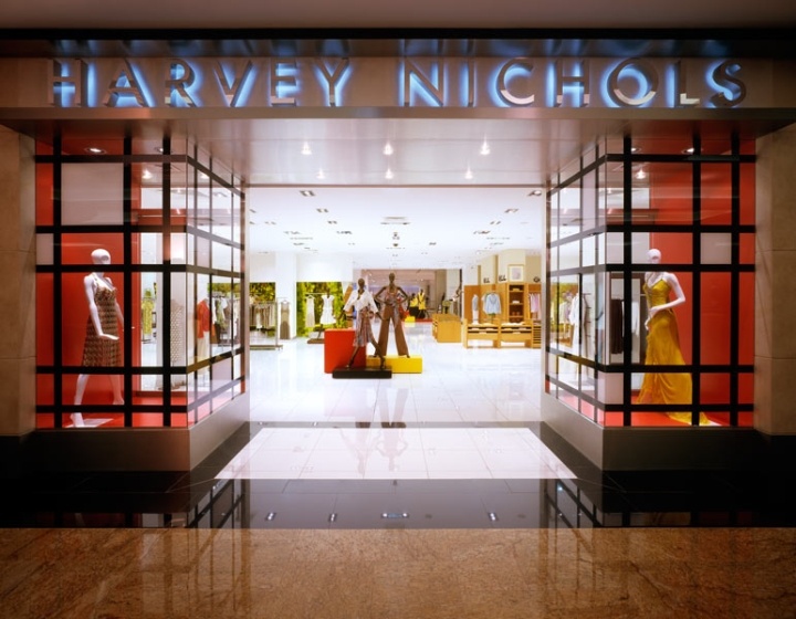 Harvey Nichols Flagship Store in DUbai