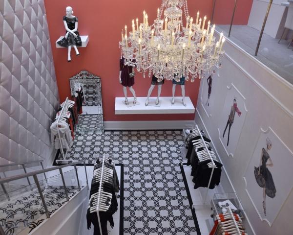 Ivanka Trump Boutique stylish interior design in SoHo