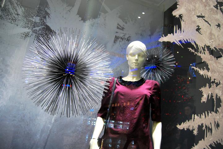 Marks & Spencer Christmas windows 2012