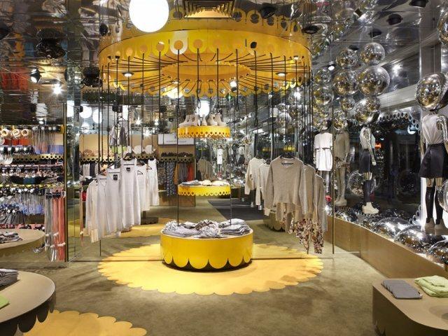 Monki Store design in London